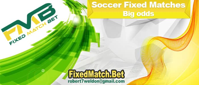 Soccer Fixed Matches Big odds
