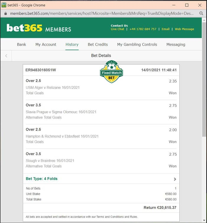 vip ticket multi bets today