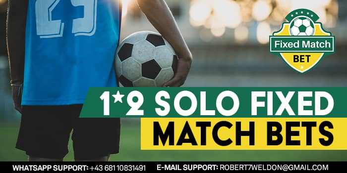 1x2 Solo Fixed Matches Bets