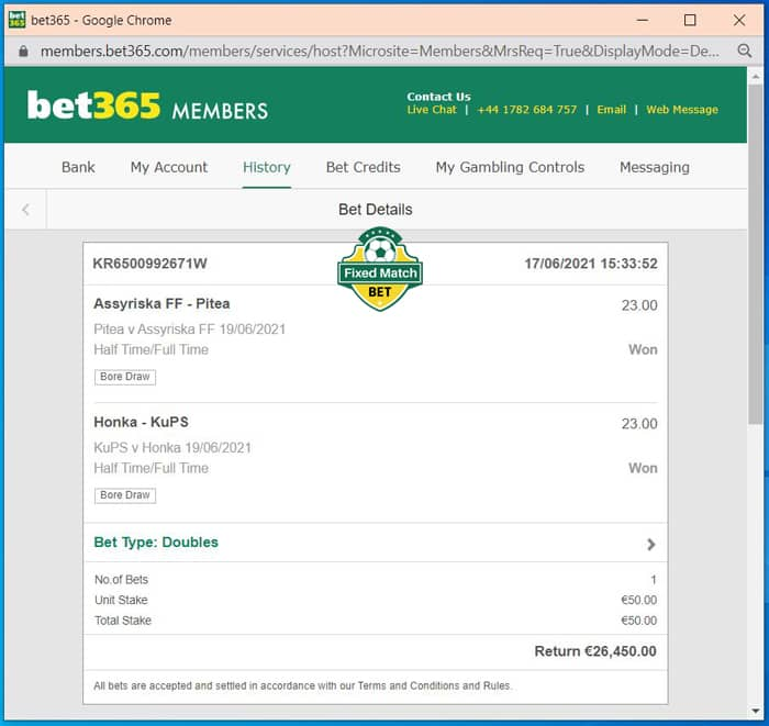 ht ft double safe bet