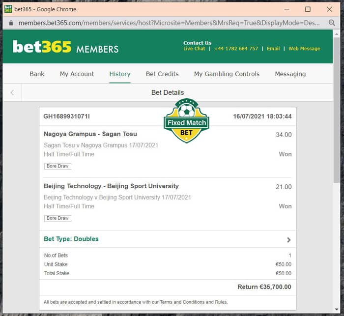 Double ht ft fixed Bets Weekend